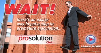 Stop to premature ejaculation prosolution Gel