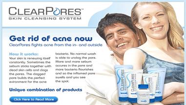 Clear Pores Confident Skin you Deserve